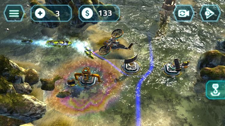 Naval Storm TD screenshot-3