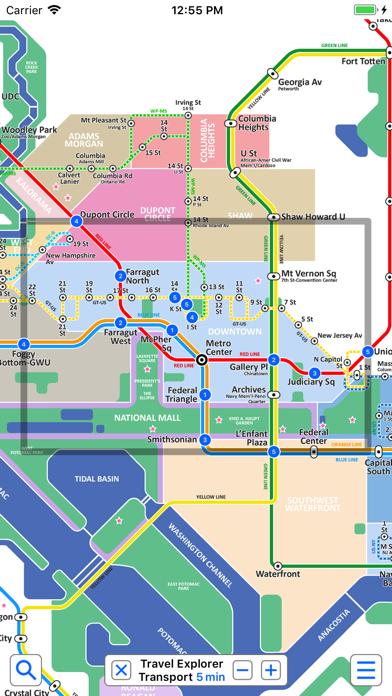 Washington Metro by Zuti Screenshot