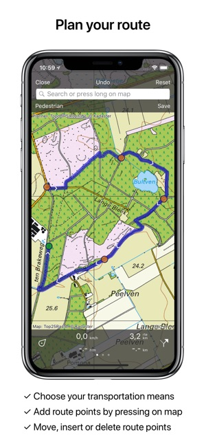 Topo GPS Netherlands on the App Store