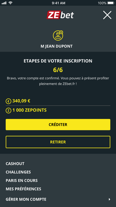 download ZEbet - Paris sportifs apps 0