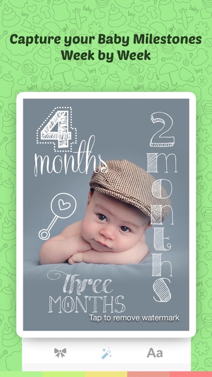 Baby Sticker- Baby Milestones