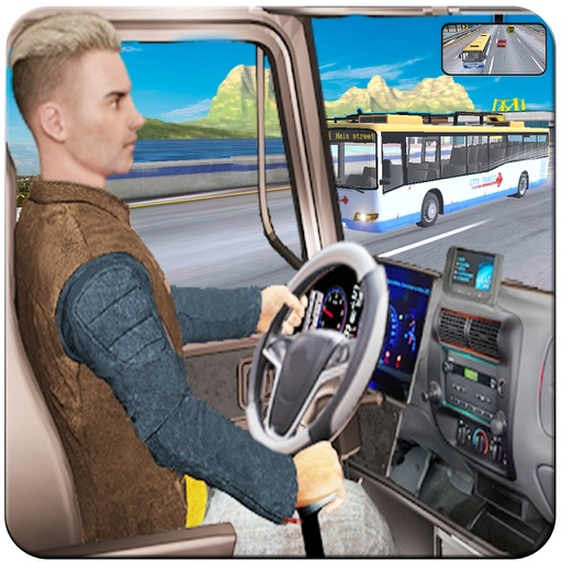In Truck Driving Highway Games