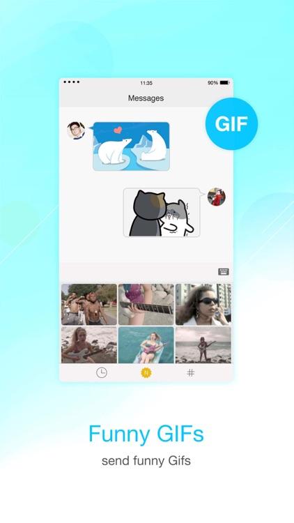 Facemoji Emoji Keyboard screenshot-3