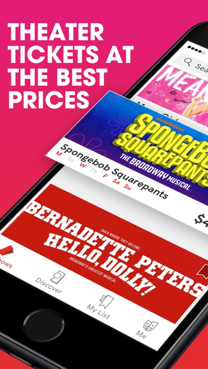 TodayTix – Broadway Tickets screenshot-0