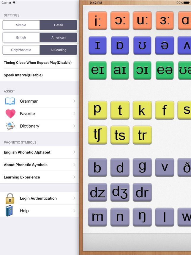 English Phonetic Symbols On The App Store