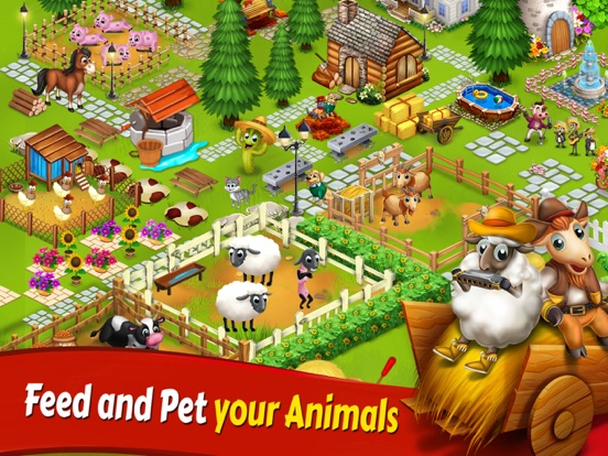 Big Little Farmer Offline Game screenshot