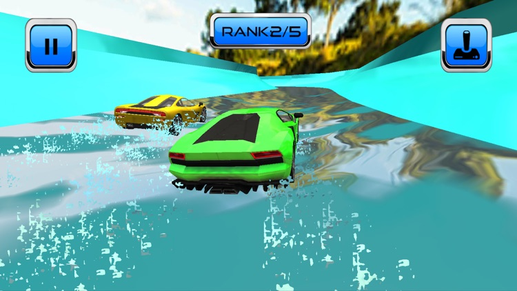 Water Slide Car Race and Stunt screenshot-4