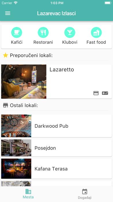 Lazarevac Izlasci screenshot one