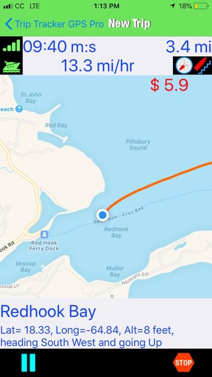 Trip Tracker GPS Professional screenshot-3