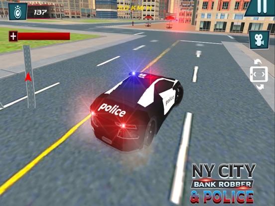 NY City Bank Robber & Police-ipad-2