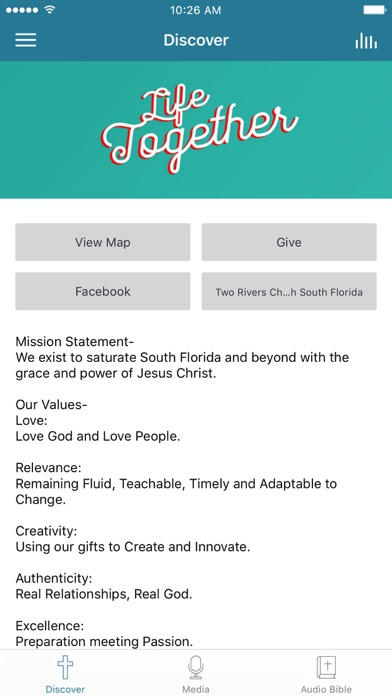 Two Rivers Church screenshot 1