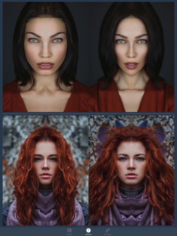 FaceSym - Face Symmetry Test Screenshots
