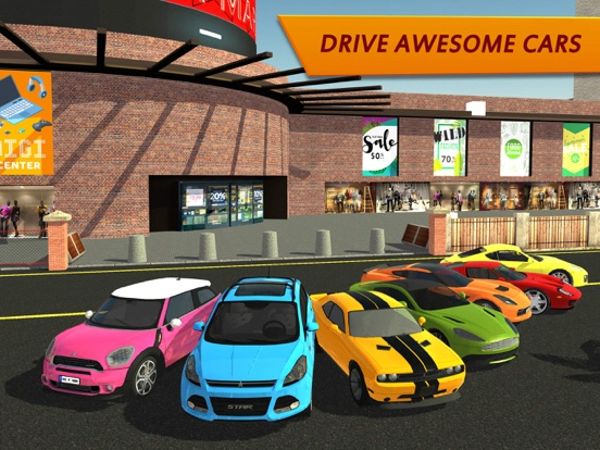 Игра Shopping Mall Car Driving