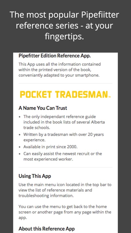 PocketTradesman Pipefitter