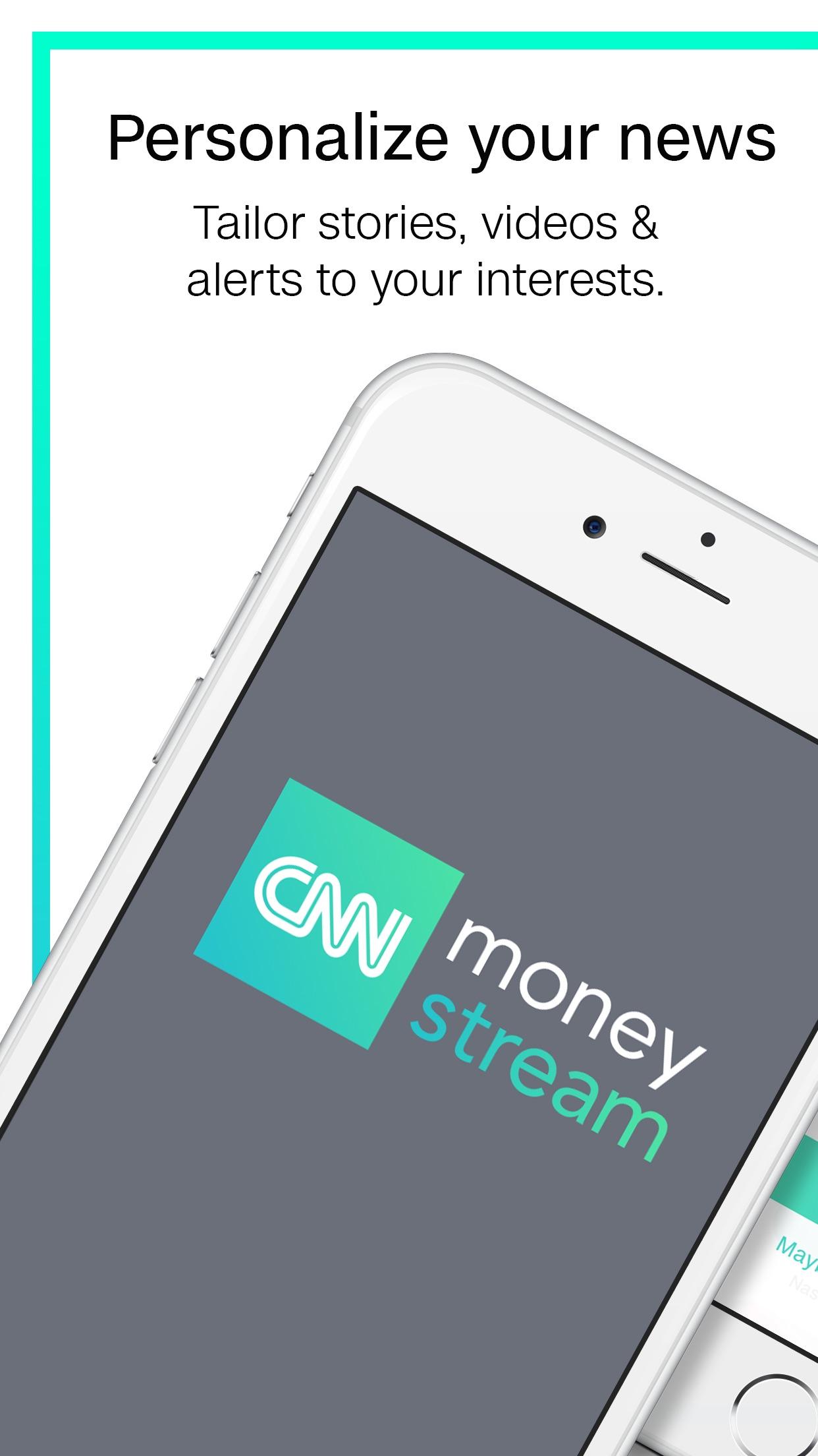CNN MoneyStream Screenshot