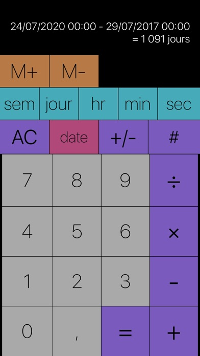 Screenshot #3 pour Tabi Calc
