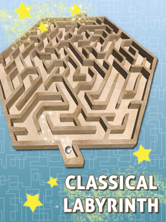 iPad Image of 3D Classic Infinite Labyrinth – Maze Games