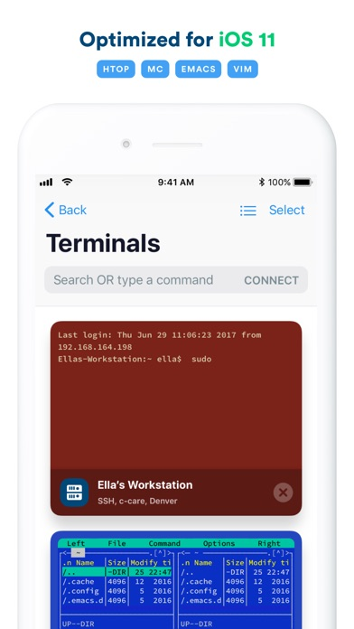 Termius - SSH client Screenshots
