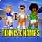 Take to the court, and get ready to compete in intense tennis match-ups