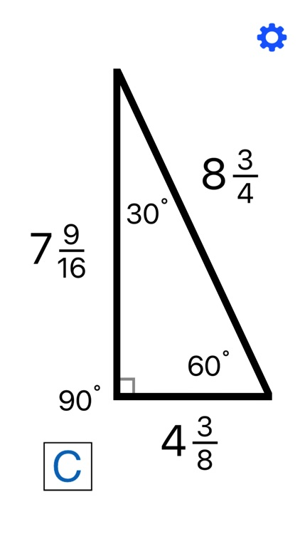Fraction & Triangle Calculator