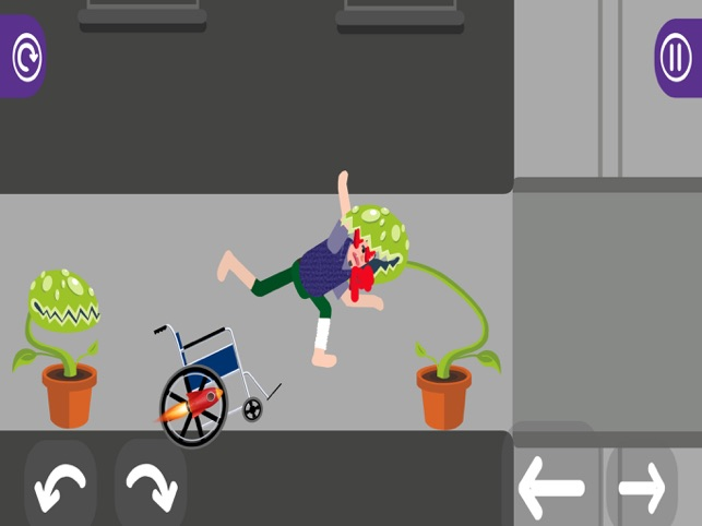 Bloody Wheels #3, game for IOS