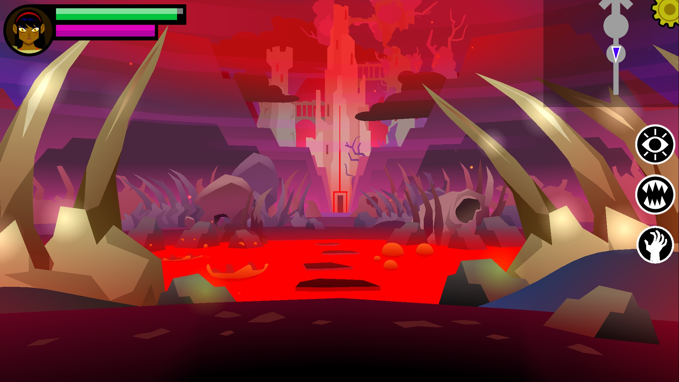 Screenshot do app Severed