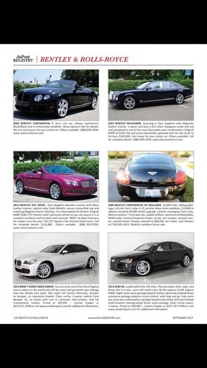 duPont REGISTRY Fine Automobiles screenshot-4