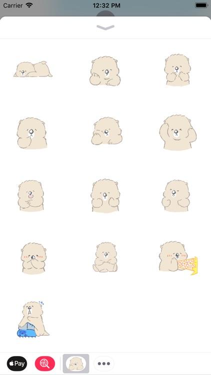Cute Polar Bear - Fx Sticker
