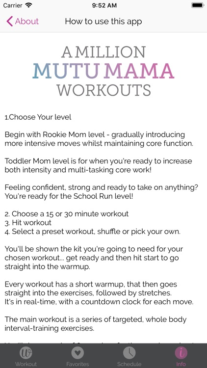 A Million MUTU Mama Workouts screenshot-5