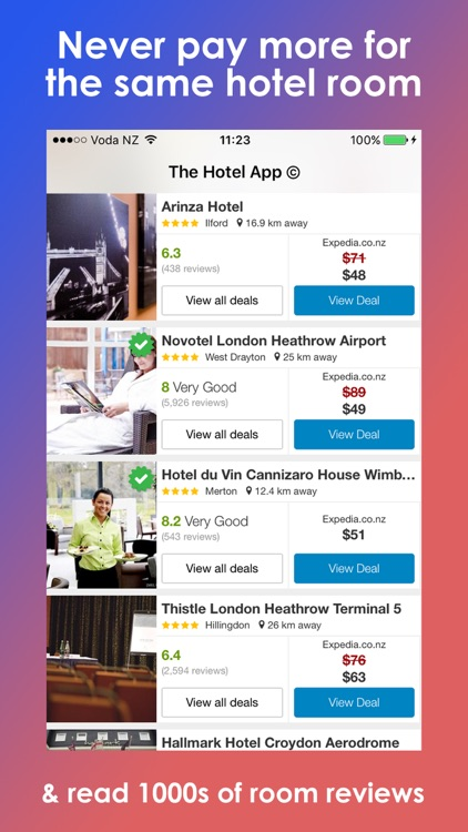 Hotel Booking Advisor & Finder screenshot-1