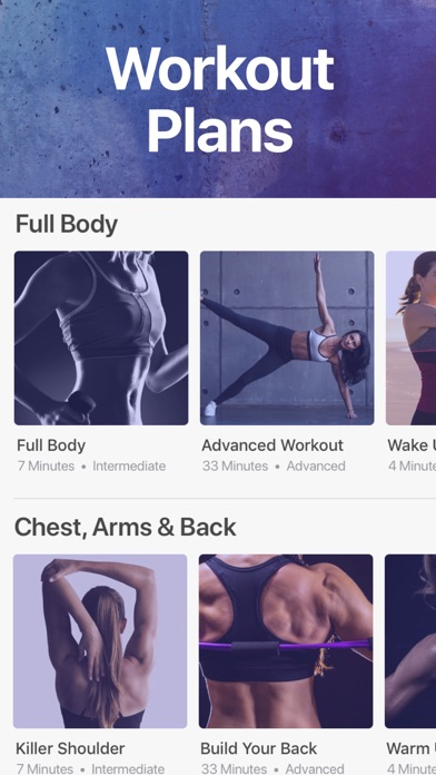 Sweat it App - Female Fitness screenshot