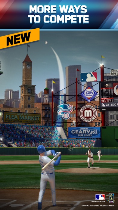 MLB Tap Sports Baseball 2018 screenshot 1
