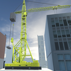 CRANE: CONSTRUCTION SIMULATOR app