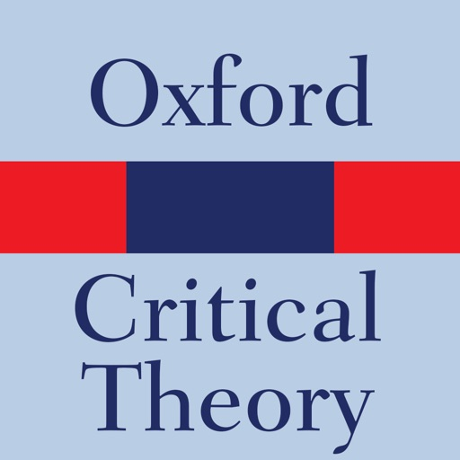 Oxford Dictionary of Theory