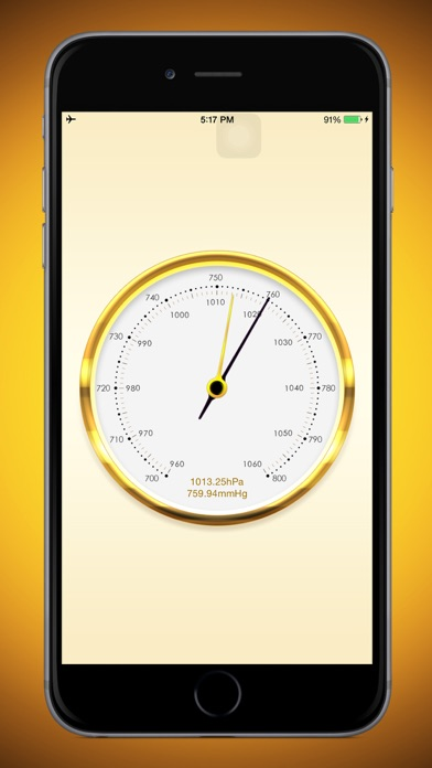 気圧計のおすすめ画像1