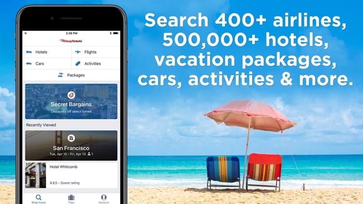 CheapTickets Hotels & Flights screenshot-7