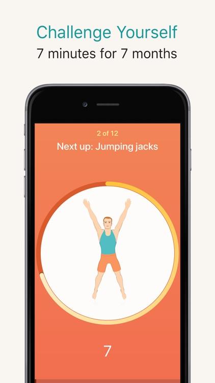 Seven - 7 Minute Workout screenshot-0