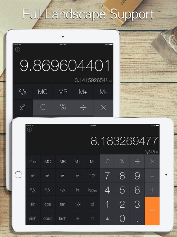 Screenshot #2 for Calculator Pro iRocks