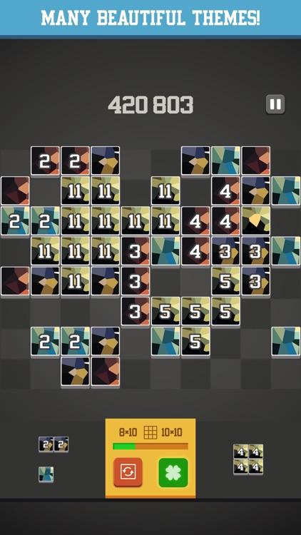 Unlucky 13 - Addictive block puzzle game screenshot-3