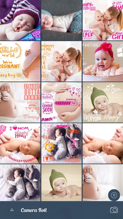 Baby Photo Art -  Baby Story screenshot-2