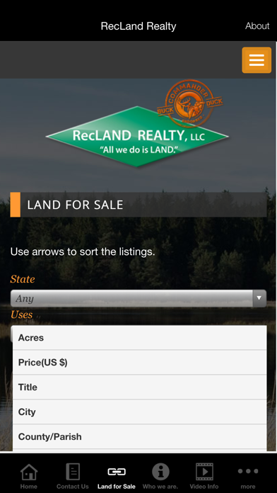RecLand Realty screenshot two