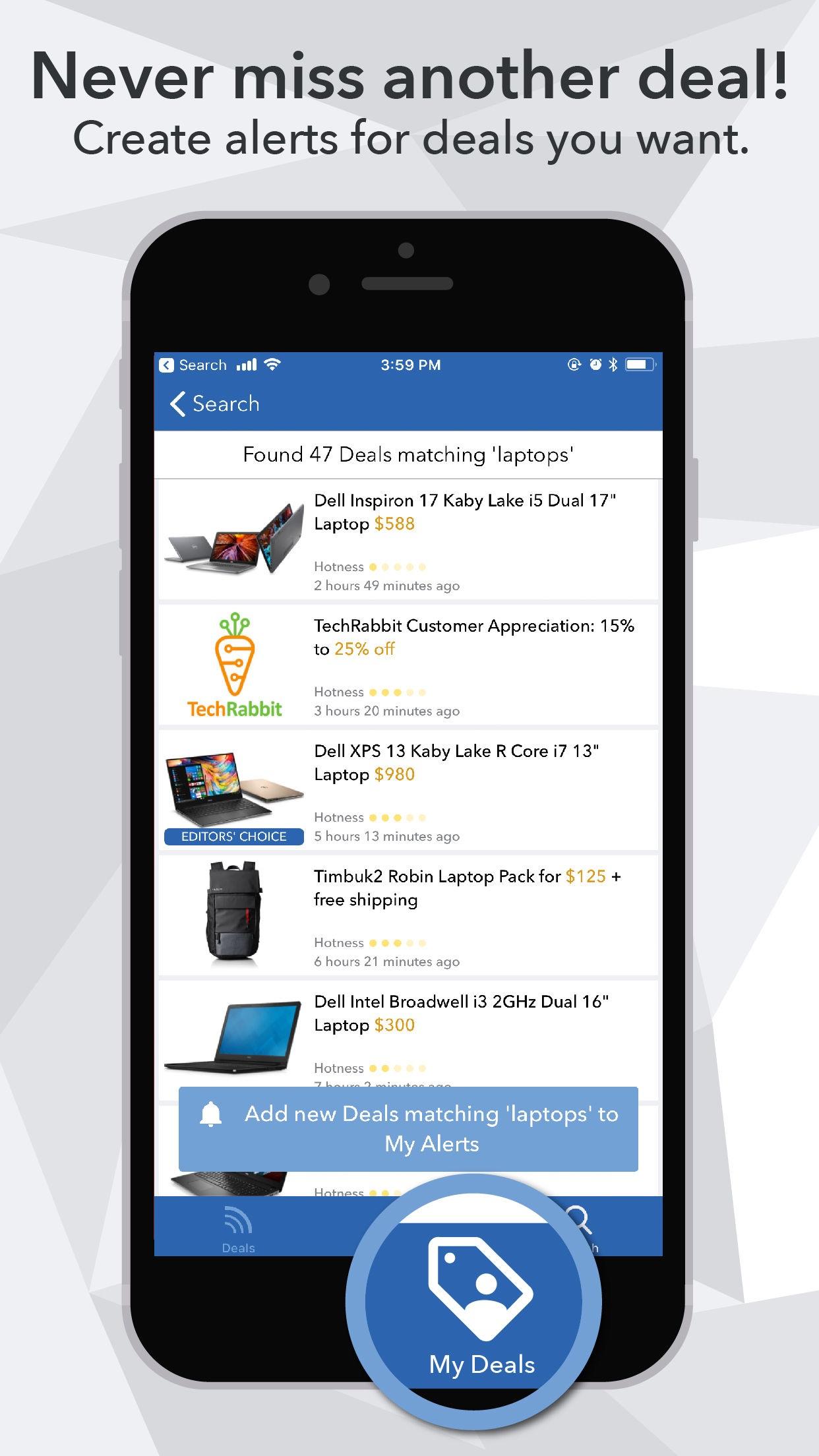 DealNews Screenshot
