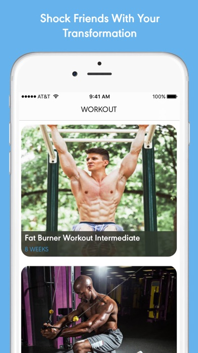 Gym Stack: Workout Planner screenshot one