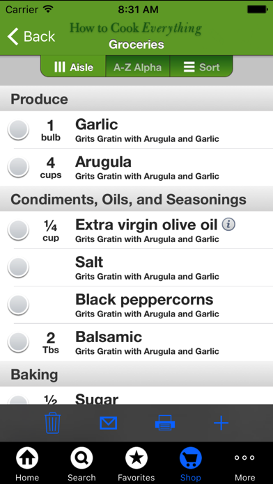 Screenshot #10 for How to Cook Everything Veg
