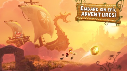 Screenshot from Rayman Adventures