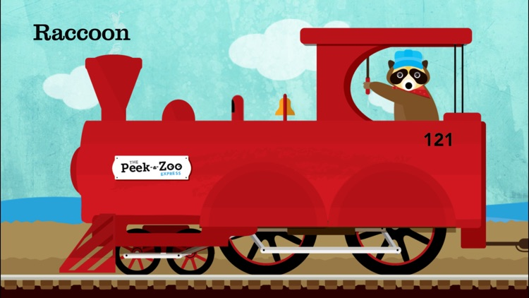 Peek-a-Zoo Train