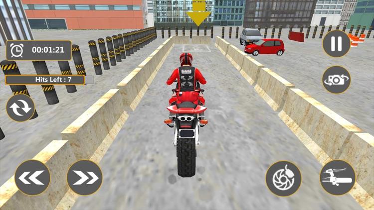 Real Bike Parking 2017 3D screenshot-3
