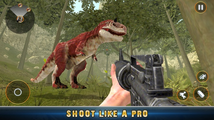 Real Dino Jungle Hunter Pro 3D screenshot-3