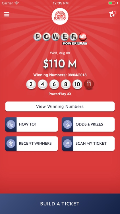 WV Lottery by West Virginia Lottery