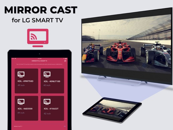 Mirror for LG TV -Pro Miracast Screenshots